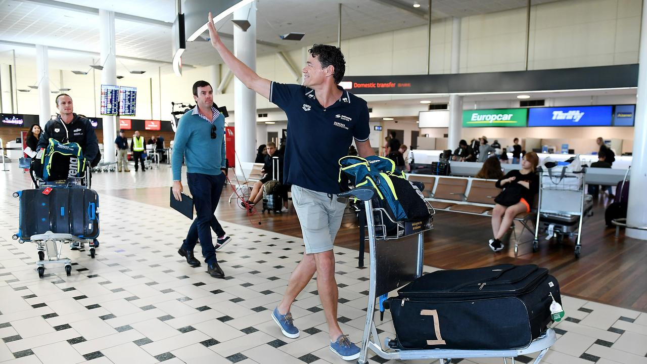 Australian swim coach Jacco Verhaeren has announced he will quit his post. Picture: AAP