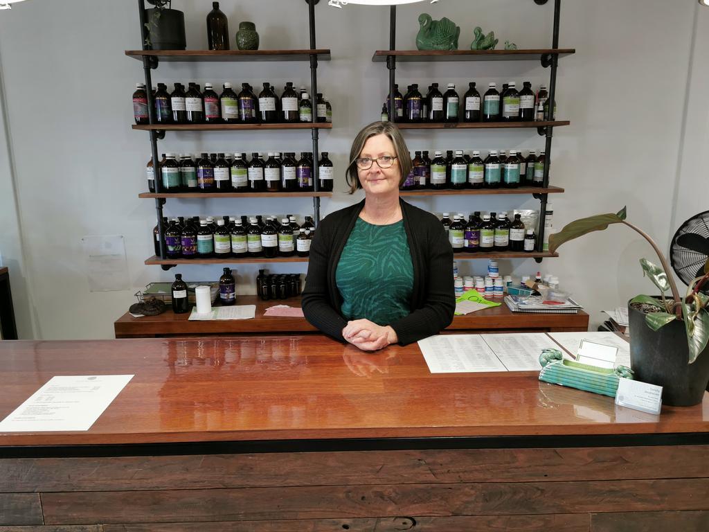 Sandy Jeudwine opened The Village Herbalist in Alstonville in 2019. (Credit: Adam Daunt)
