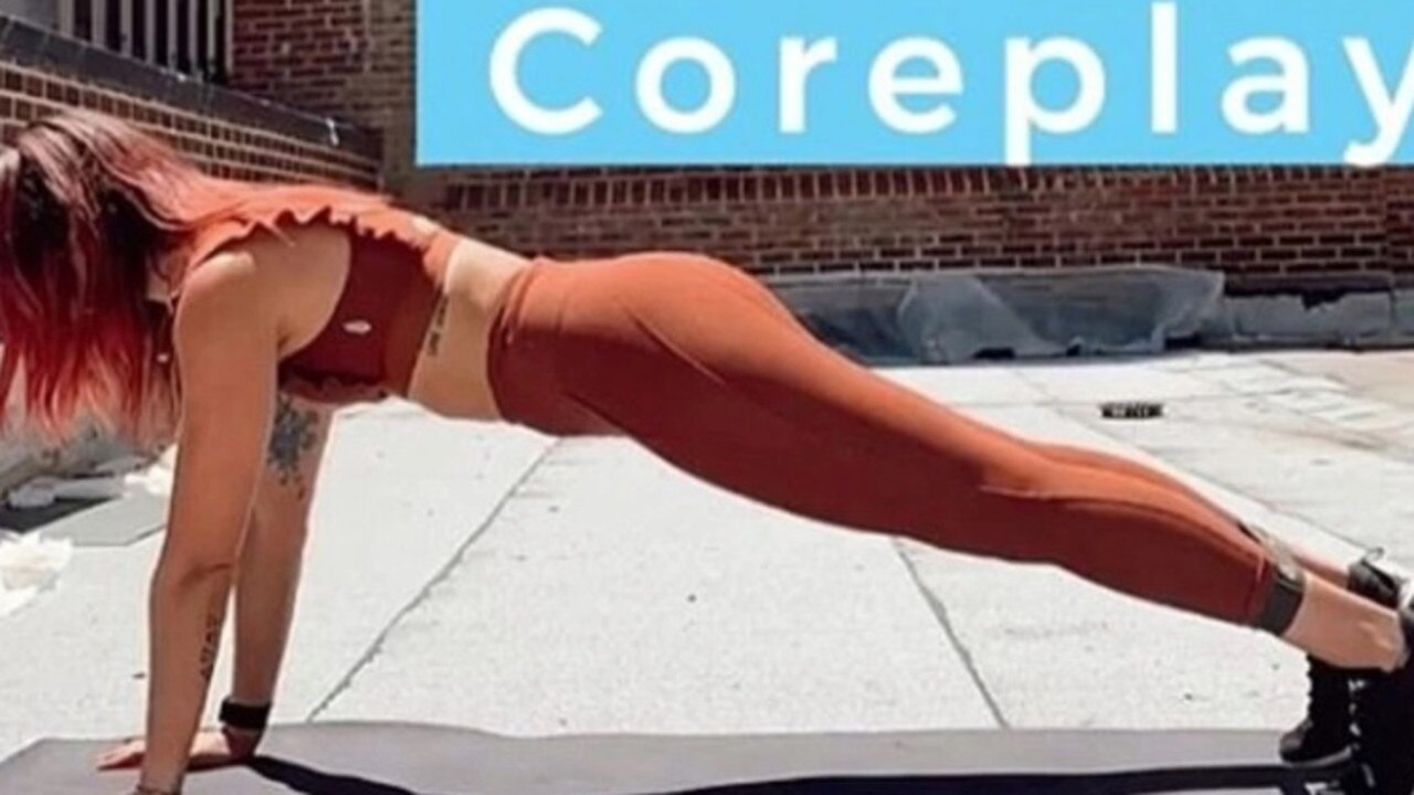 Women have confessed to experiencing 'coregasms' during ab workouts. Picture: Instagram/BecDonlan