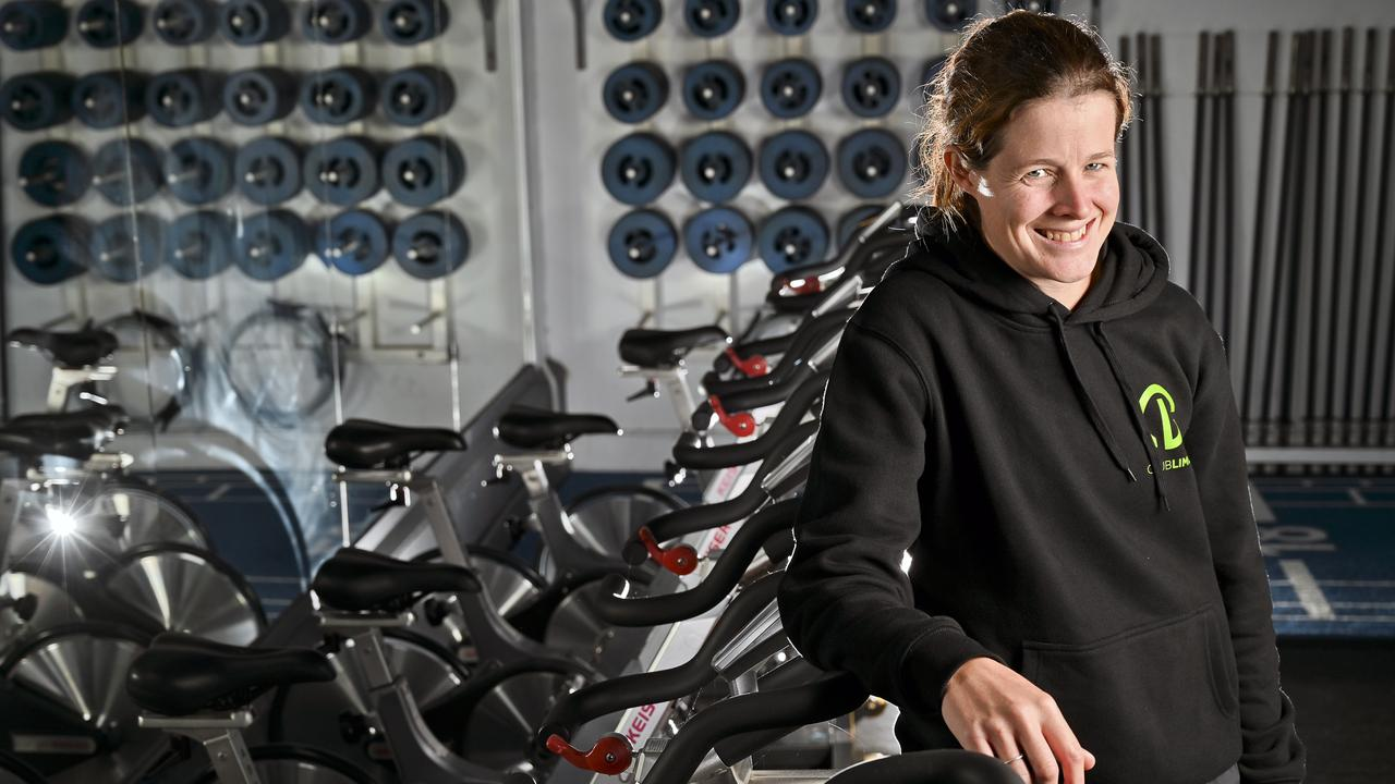 EQUIPPED TO ASSIST: Ipswich personal trainer Sara Rogers is glad to be back at Club Lime at Brassall after the recent shutdown. Picture: Cordell Richardson