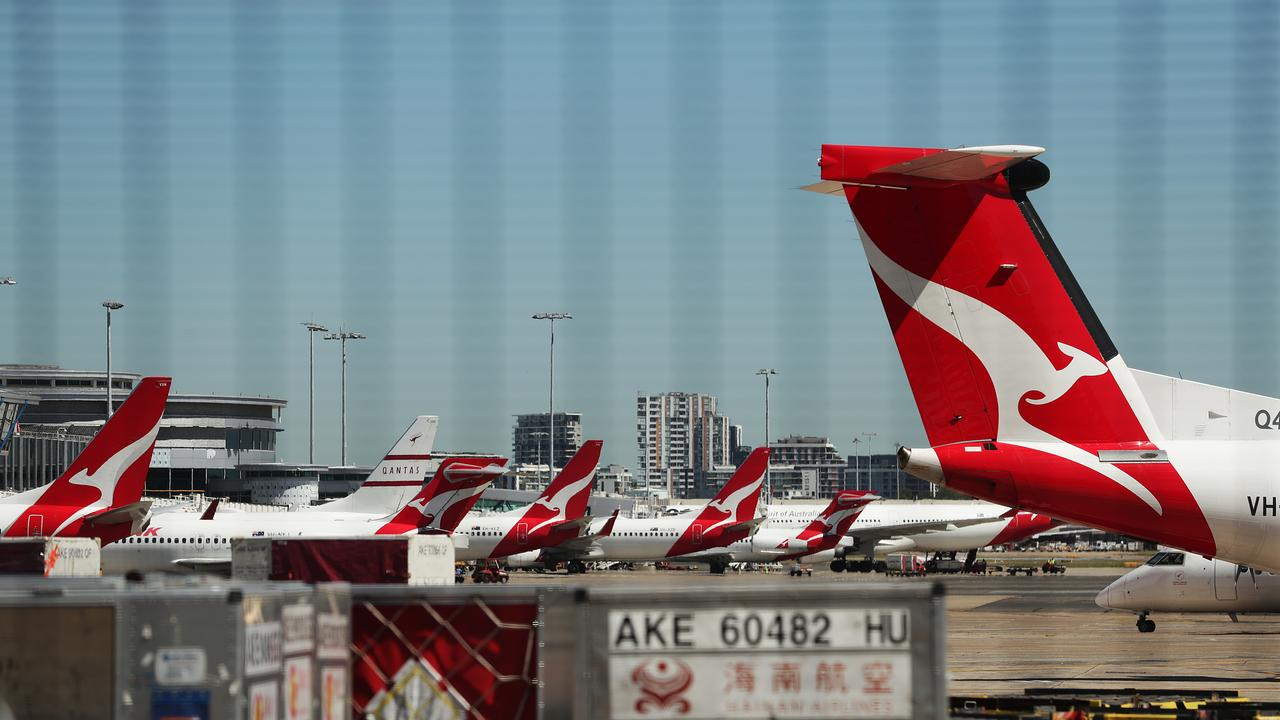 FLYING HIGH: Qantas is looking to increase its now 5 per cent capacity up to 15 per cent by the end of June.