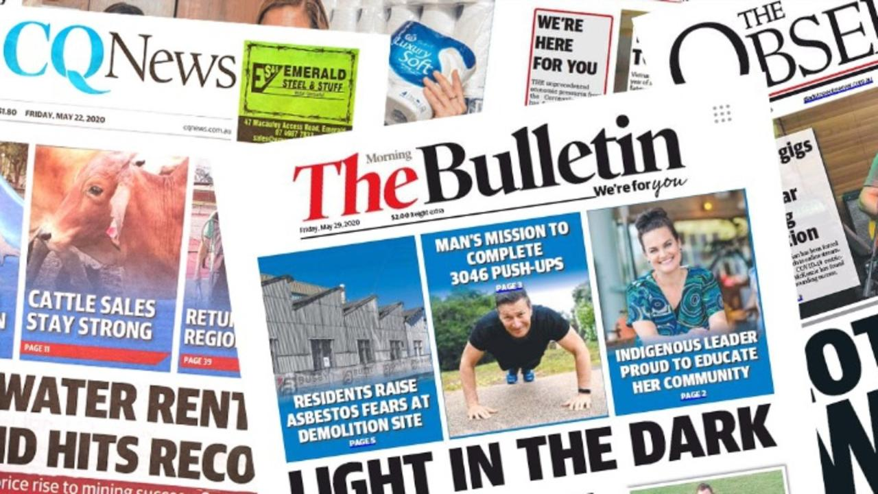 DISAPPEARING NEWSPAPERS: CQ's politicians are pulling out all stops to convince News Corp to continue printing a hard copy newspaper for Central Queensland.