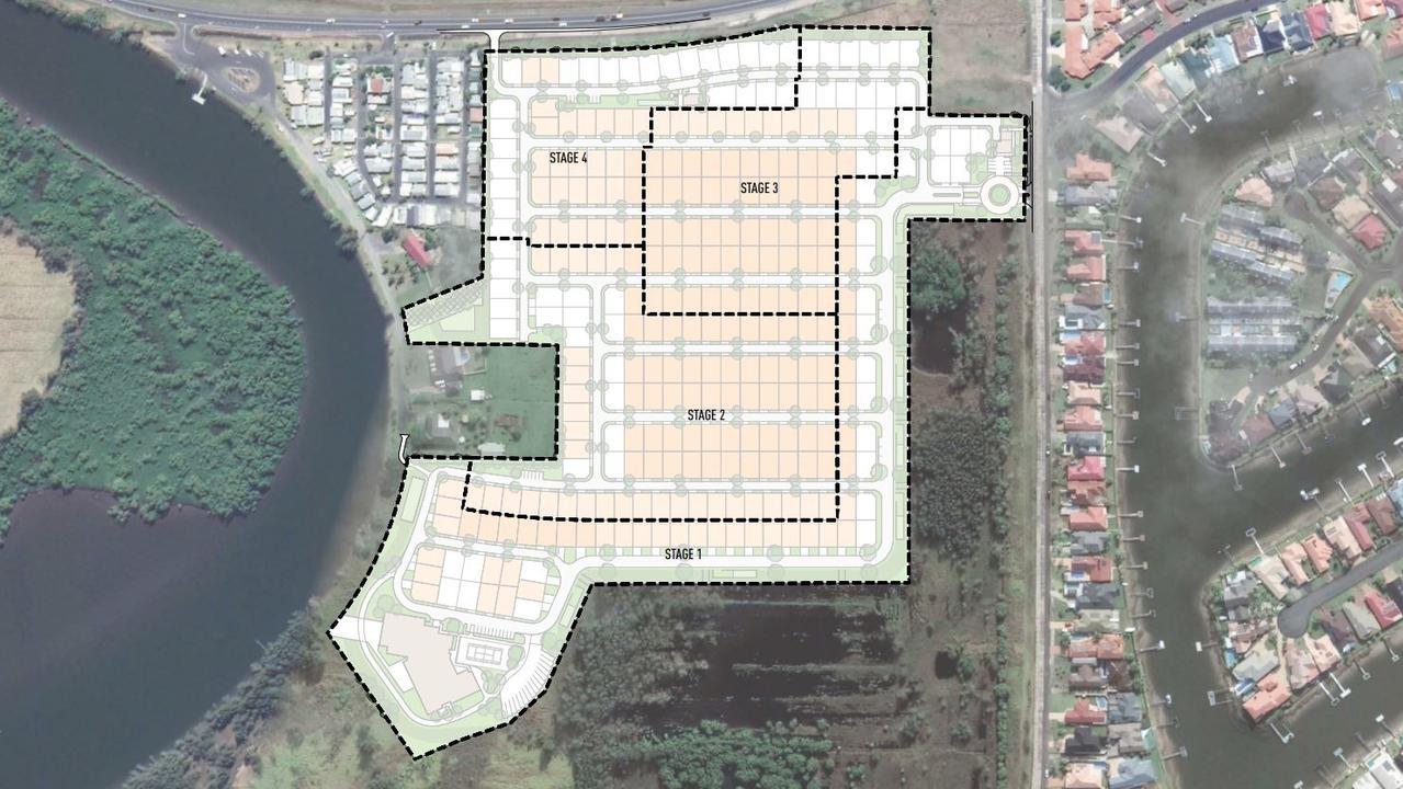 Plans for GemLife's $30 million over 50s resort at West Ballina.