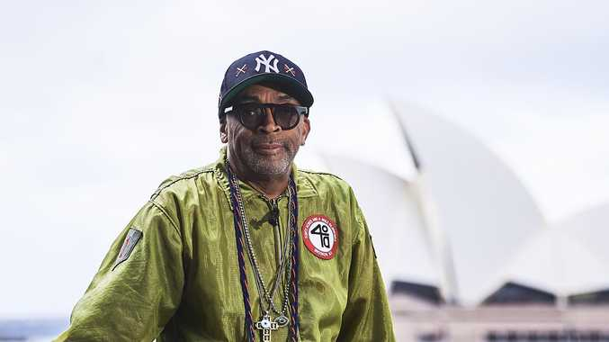 Spike Lee says the world's 'in peril' if Trump wins election