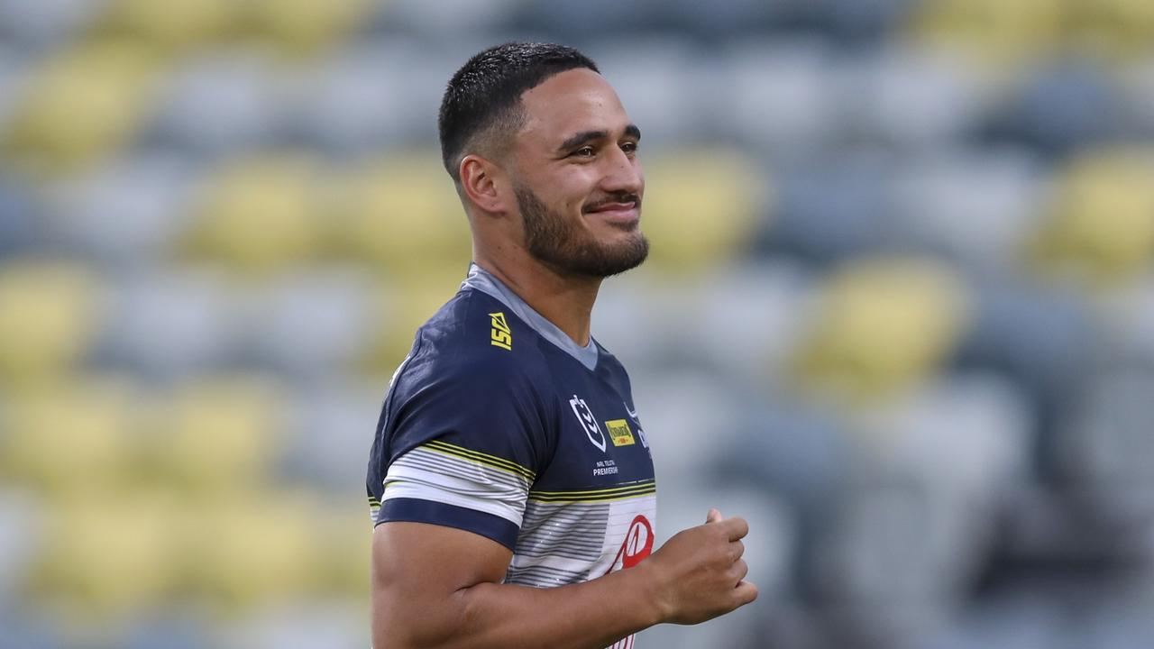 The Cowboys are set to reap the rewards of Holmes' short-lived NFL stint. Picture: Dave Acree/NRL Photos