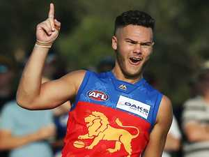 No.1 pick inspired by Lions greats to stay at Gabba