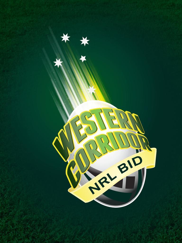 Logo for the Western Corridor NRL bid team