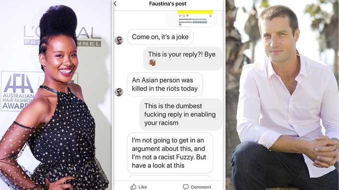 'You're a racist': Aussie TV hosts in a public showdown