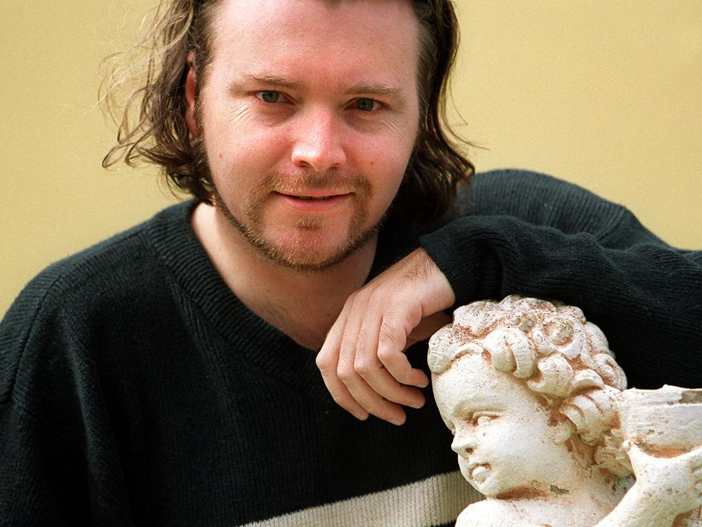 Kyle Sandilands in 2001 before he was a household name.