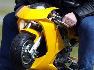 One drunk mini motorbike ride ends in massive fine
