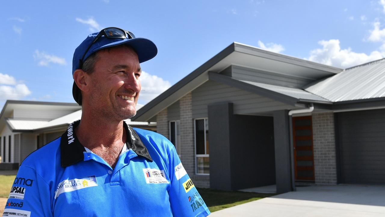 Gladstone builder Troy Tenheggeler has seen inquires skyrocket since talk of home building incentive schemes to aid the coronavirus economic recovery.
