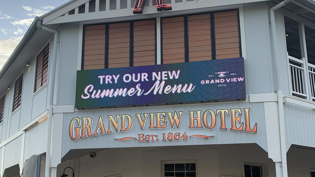 Bowen's Grand View Hotel will be open, with some restrictions in place.