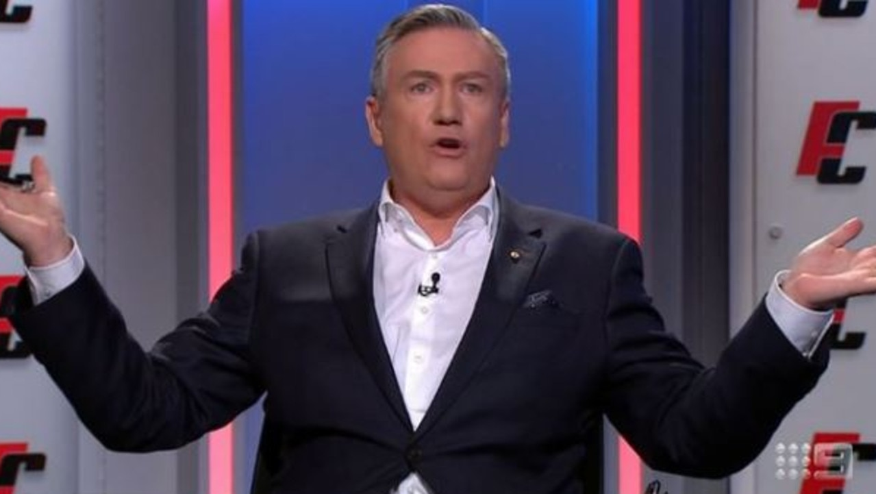 Eddie McGuire is not pleased with David Koch.