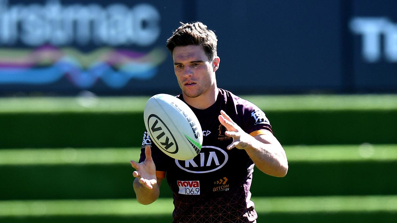 Croft will co-captain the Broncos against the Roosters. Photo by Bradley Kanaris/Getty Images.