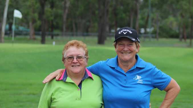 Kingaroy golfers battle harsh weather for club champs