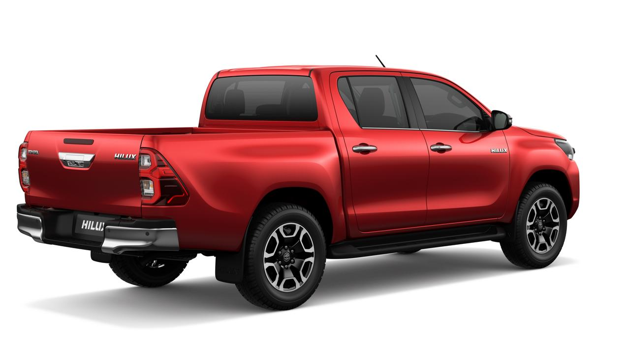 New-look 2020 Toyota HiLux.