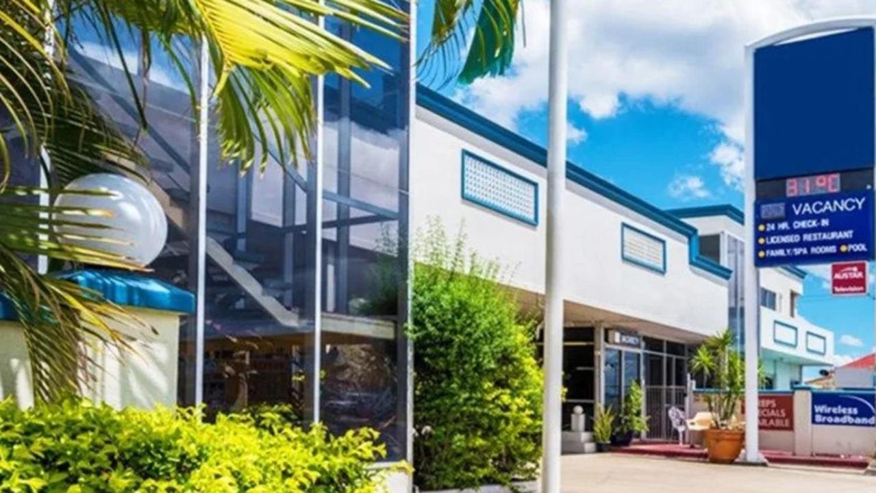 Large corporate freehold motel for sale in Rockhampton.