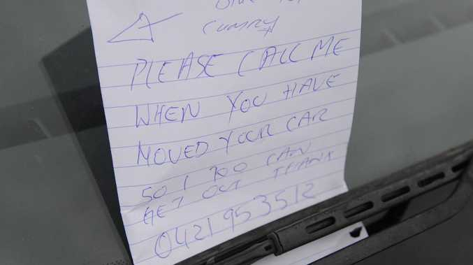 'Creepy' note that led to man losing an eye