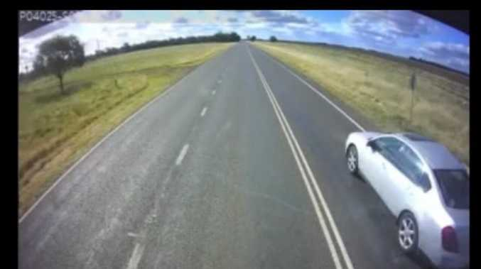 Truckies help to change bad drivers dangerous attitudes