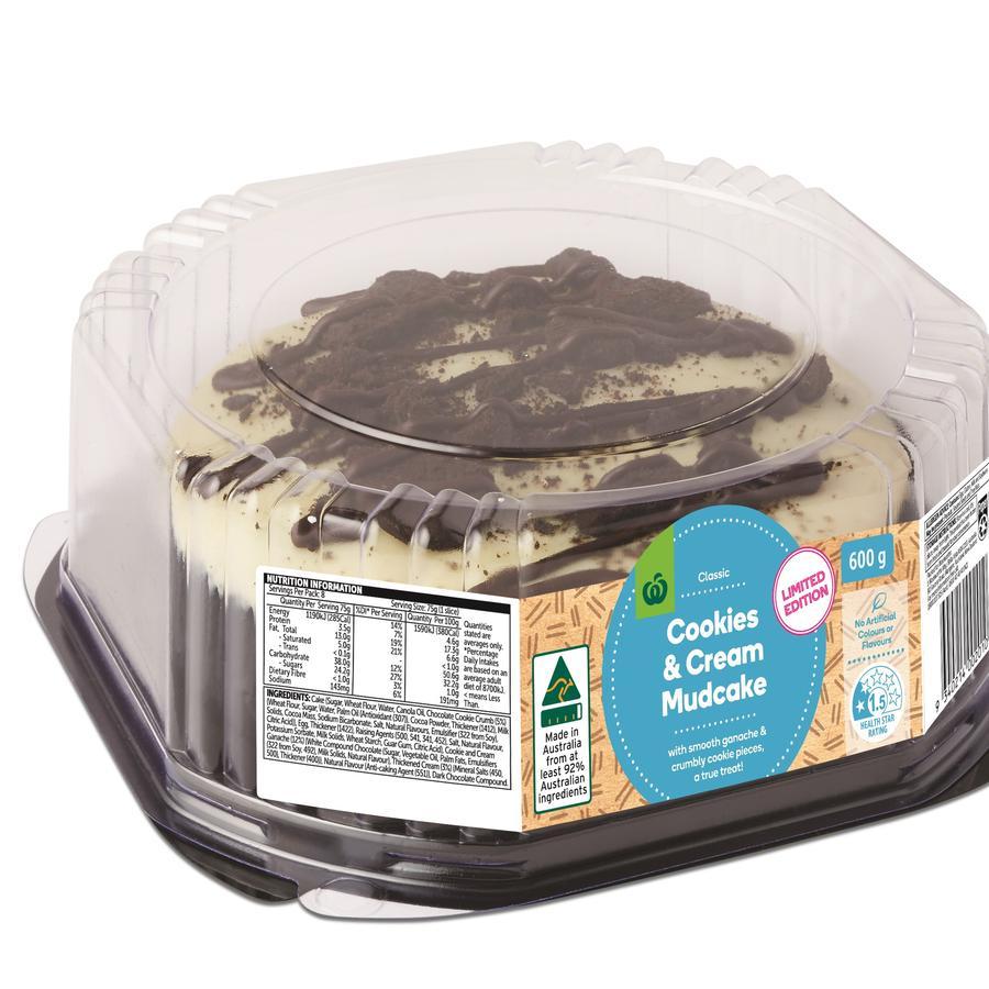 Woolworths' 'amazing' $5 cookies and cream mud cake goes viral on TikTok.
