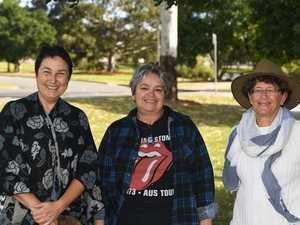 Sandra Naidoo, Theresa Justin and Christina Gooden at