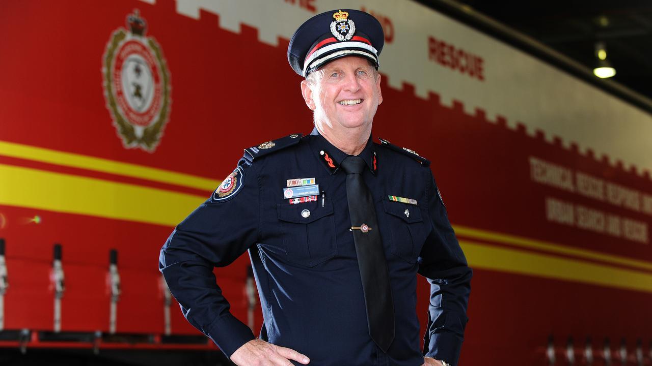 John Watson said he knew immediately the fire posed a high risk to life. Photo: John Gass