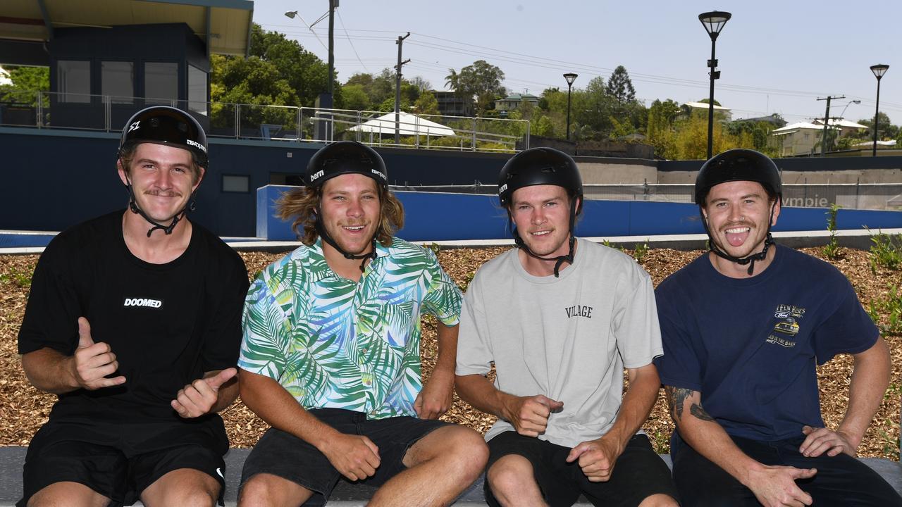 Gympie Youth Precinct - Benjamin Winter, Ryan Rostirolla, Jake Ryan and Mitchell Campbell