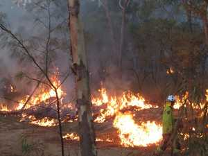 Fireys make progress with Operation Cool Burn to protect CQ