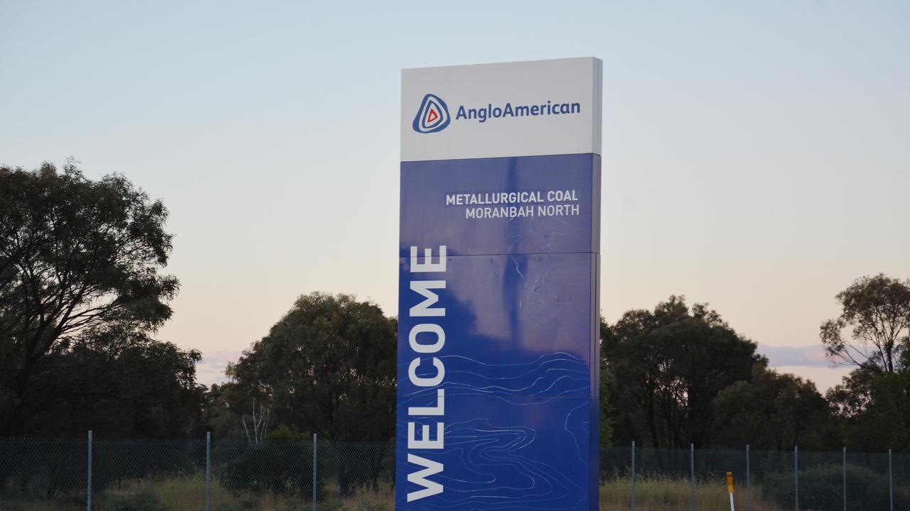 Anglo American's Moranbah North mine. Picture: Tara Miko