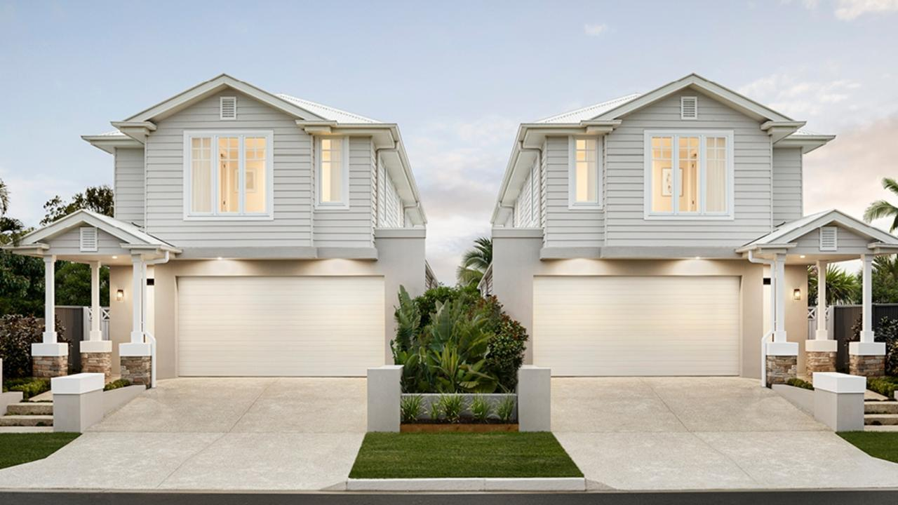 A Coral Homes display at 16A Huon St, Broadbeach Waters.