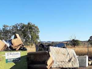 'Indiscriminate dumping' leaves no room for locals at rural tip