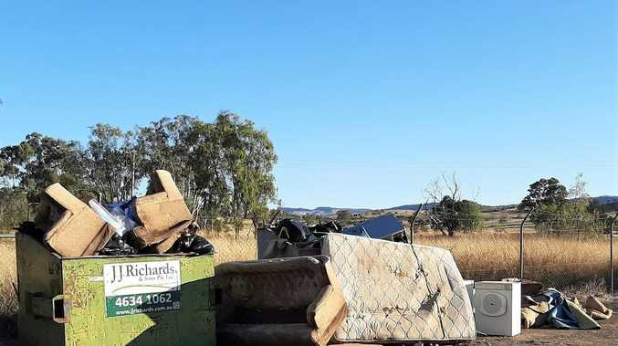 'Indiscriminate dumping' leaves no room for locals at rural tip