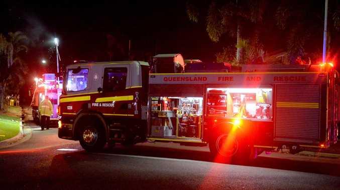 Crime scene established after Qld house fire