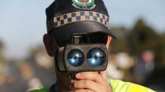 Where Lockyer police are cracking down on speedsters