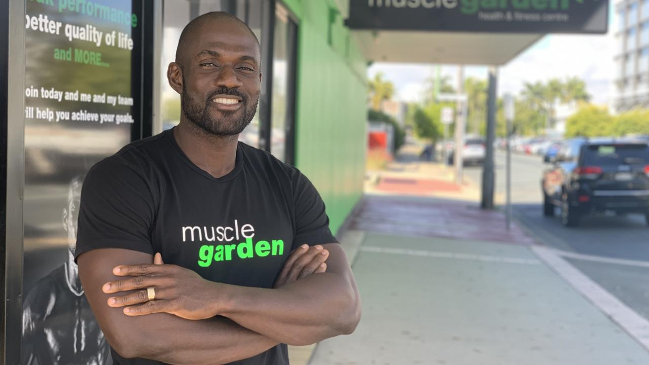 Muscle Garden owner Kay Nyenuh.