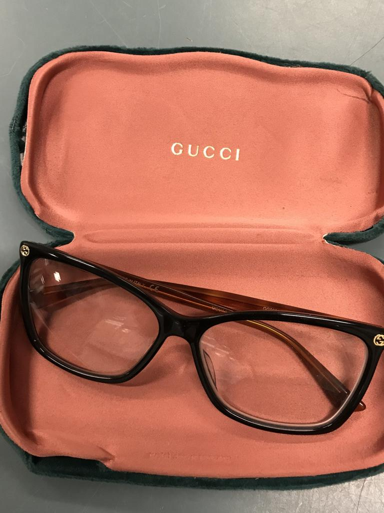 Bundaberg Police are looking for the owner of this pair of prescription Gucci glasses.