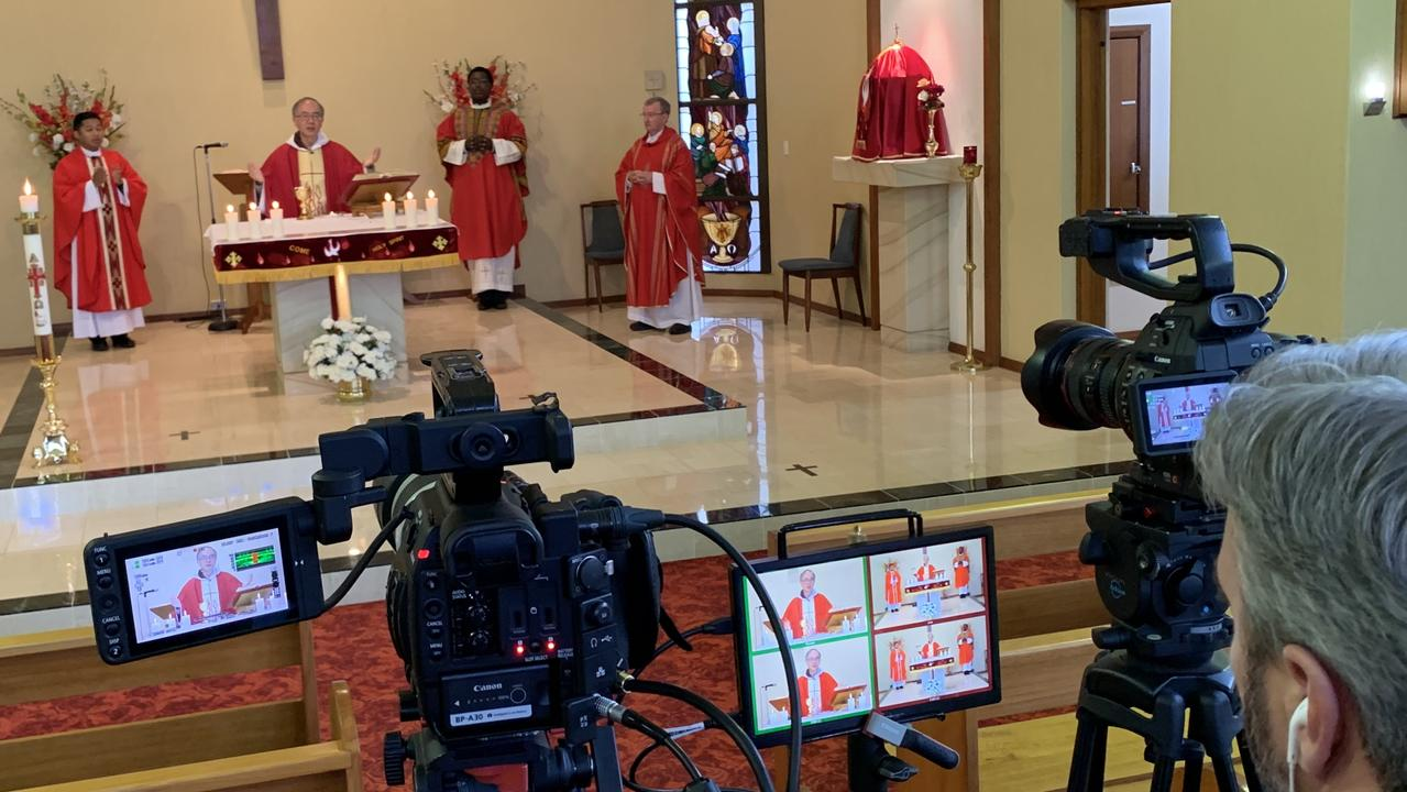 VIRAL: The Lismore Catholic Diocese has undergone a digital transformation, mostly through Bishop Greg's masses being live-streamed on YouTube.
