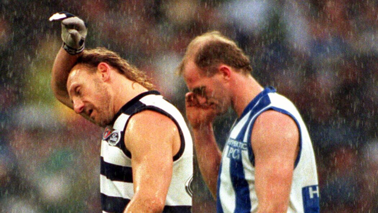 Gary Ablett kicked just one goal in the 1996 qualifying final, a match Gary Ayres admits he should not have played.