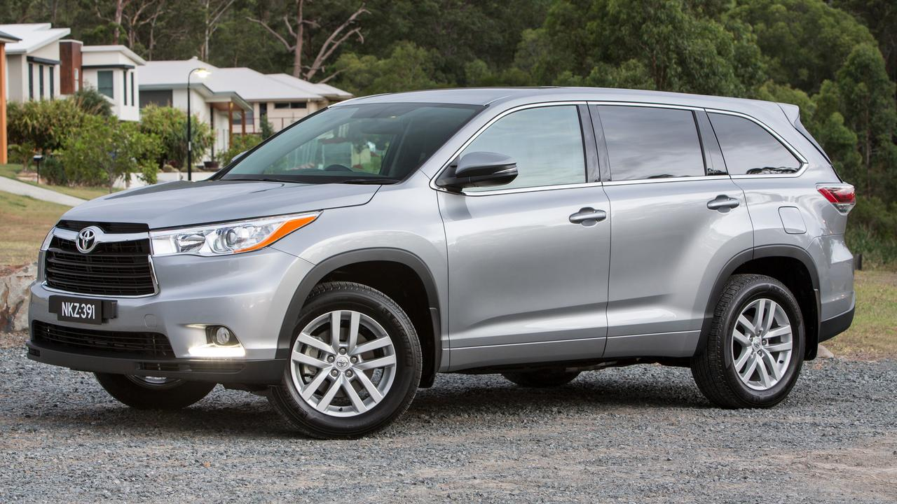 Toyota has wiped about $8000 off its Kluger GX.