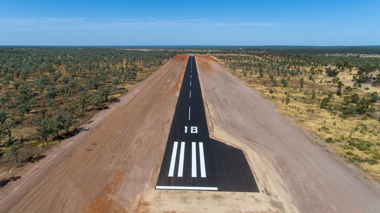 Adani's upgraded Labona Airstrip will allow workers to FIFO from Rockhampton and Townsville