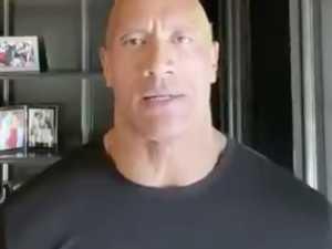The Rock's powerful plea to Trump