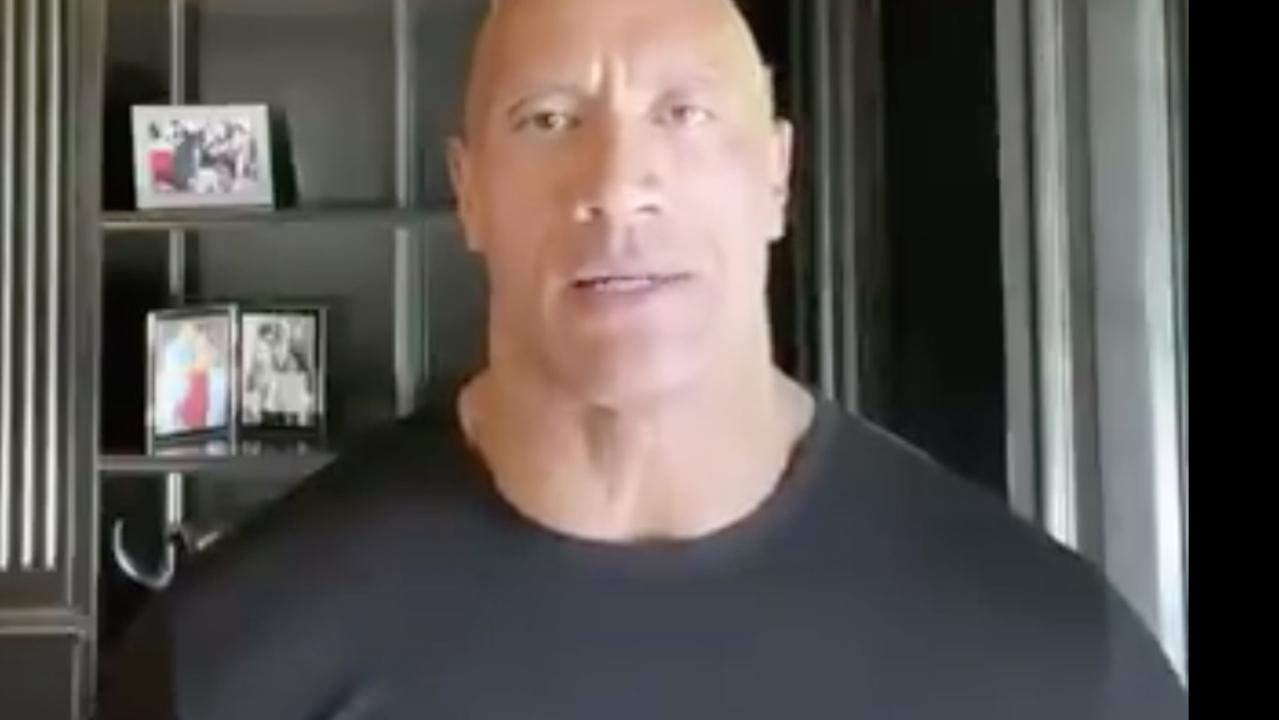 Dwayne Johnson's powerful plea to Donald Trump.