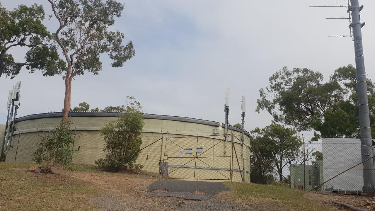 5G FEARS: A Frenchville couple are concerned about the installation of 5G communications technology in close proximity to a water reservoir at the end of their street.
