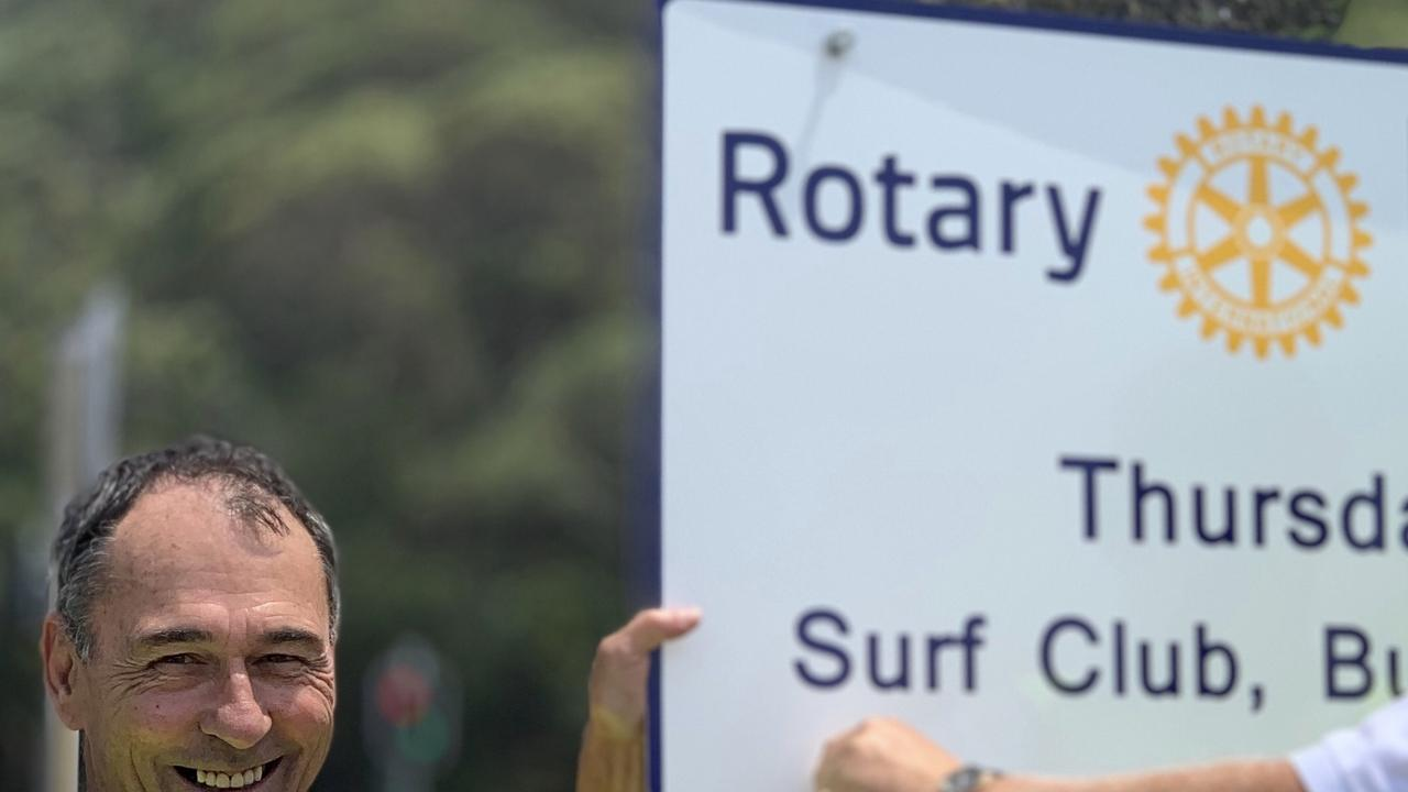 BURLEIGH TO THE WORLD: Rotary Club of Burleigh Heads' Allan Barnett has taken to the virtual world, spreading the word about his club's and the area's benefits, as well as finding out about clubs around the globe.