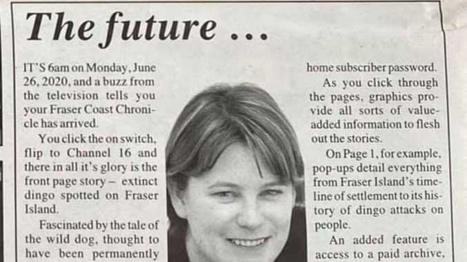 Journo's eerily accurate predictions from 19 years ago