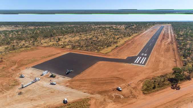 FIRST LOOK: Rocky FIFO begins as Adani airstrip complete