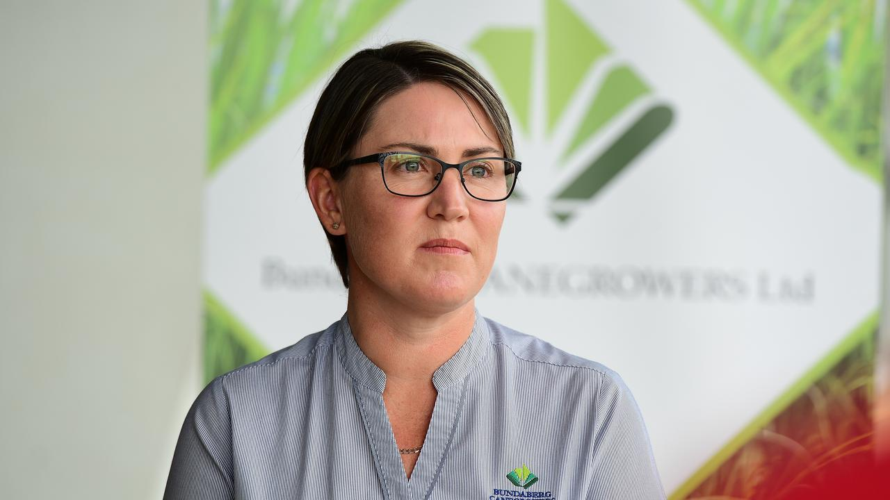 Executive officer of Bundaberg Canegrowers and Bundaberg Region Irrigators Group Tanya Howard speaks about the need to overturn reef regulations. Picture: Mike Knott.