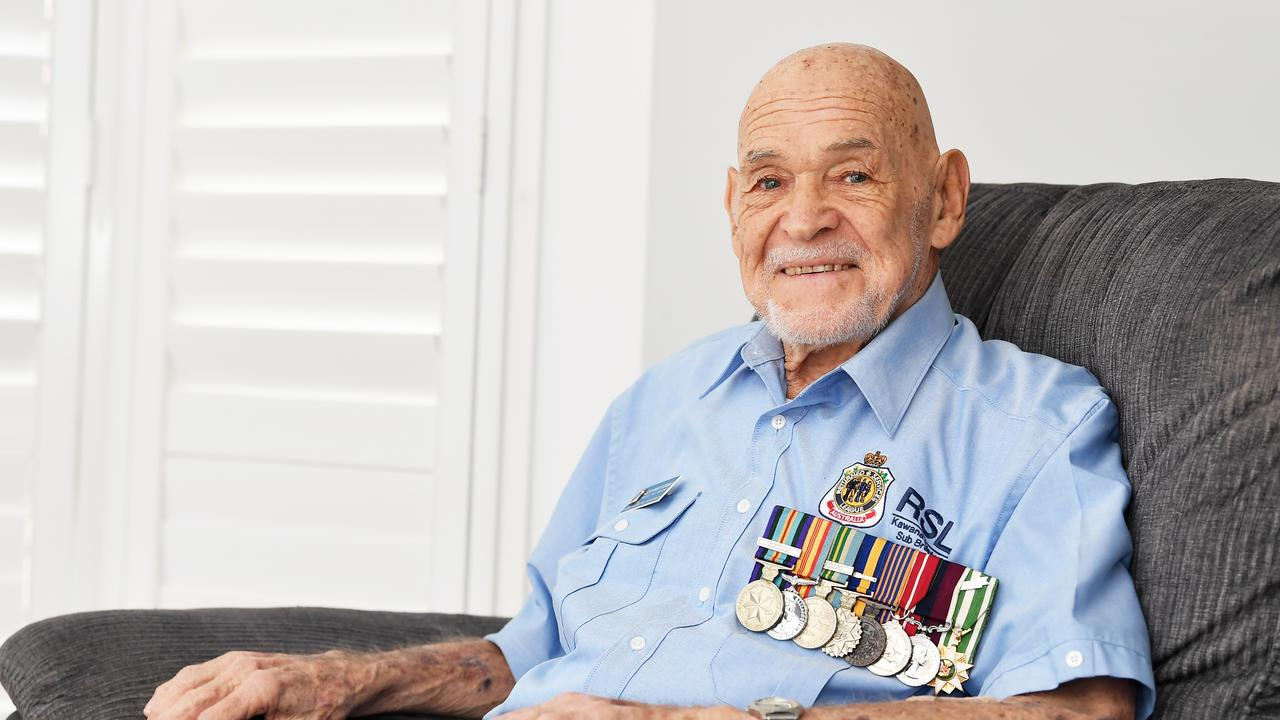 Kevin Hurman has been named on the Queens Birthday Honours List and will receive an OAM for service to veterans and their families. One of his most well known stints was as president of the Kawana Waters RSL Sub Branch for 20 years, once from 1999 to 2004 and again from 2007 to 2018, and vice-president for the period from 2005 to 2006. Photo Patrick Woods / Sunshine Coast Daily.