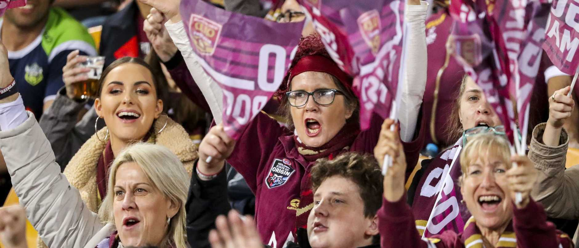The long-awaited return of screaming footy fans to Queensland stadiums could be within weeks as NSW prepares to welcome back spectators to NRL games.