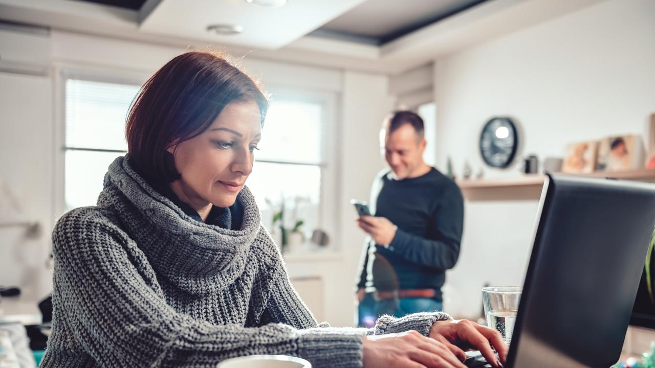 More than one-third of us have been working from home during the pandemic. Picture: istock
